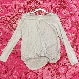 Lush top long sleeve size S